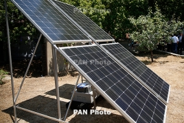 Solar panels charge visibility, other tech on Artsakh frontline