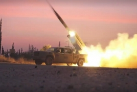 Syrian army launches powerful rocket attack on Islamic State