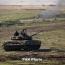 В Карабахе провели танковые учения