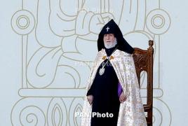 Гарегин II освятит армянскую церковь в Днепре