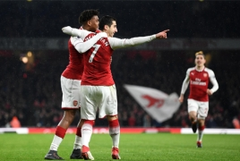 Wenger 'not surprised at' Henrikh Mkhitaryan's stunning Arsenal form