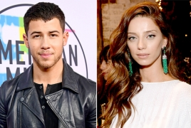 Nick Jonas reportedly dating Angela Sarafyan