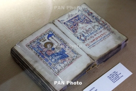 Armenian manuscript goes on display in Manchester