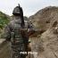 ВС Азербайджана применили ручные противотанковые гранатометы на передовой в Карабахе