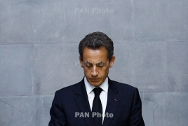 Former French president Sarkozy 'in custody' in campaign funding probe