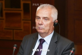 Switalski says Armenians are talented, 'have a high IQ'