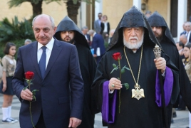Lebanon monument celebrates 100th anniv. of the first Armenian Republic