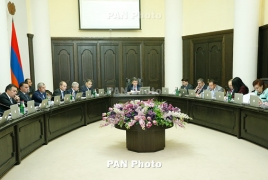 Armenia government sends CEPA bill to parliament for ratification