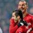 Henrikh Mkhitaryan bids farewell to 'genius' Zlatan Ibrahimovic