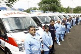 China to donate 200 new ambulances to Armenia