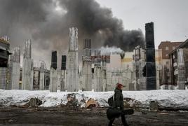Крупный пожар в Кемерово: 56 человек погибли