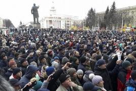Massive rally in Russia's Kemerovo seeks resignation of authorities