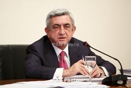 Սերժ Սարգսյանին կառավարությունը բնակարան կնվիրի