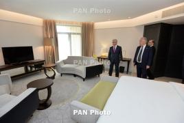 Երևանում բացվել է լյուքս կարգի «Ալեքսանդր» հյուրանոցը
