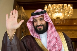 Saudi crown prince says Palestinians, Israelis have right to their own land