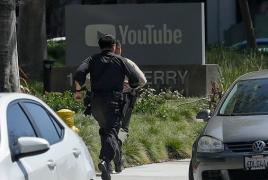 Стрелявшая в штаб-квартире YouTube в Калифорнии женщина покончила с собой