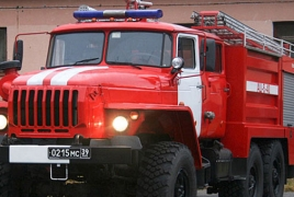 Moscow shopping mall catches fire, casualties reported