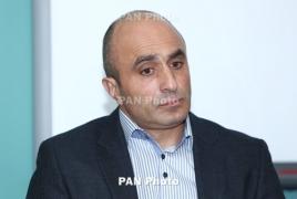 Armenia football team boss resigns