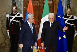 Italy says Armenia is of strategic importance for Rome