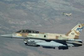 Israeli warplanes reportedly continue flying near Syrian border