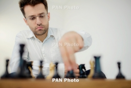 Armenia's Levon Aronian finishes 3-5th at Grenke Chess Classic