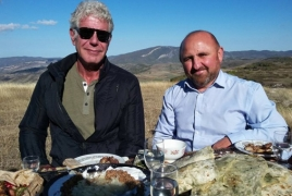 CNN to air Anthony Bourdain's Armenia adventures on May 20