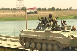 Russian military builds new bridge in Deir ez-Zor