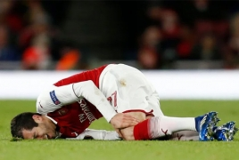 Wenger believes Mkhitaryan will be back at Arsenal within two weeks