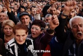 «Իմ քայլը». Օպերայի բակում սկսվել է Սարգսյանի վարչապետության դեմ հանրահավաքը