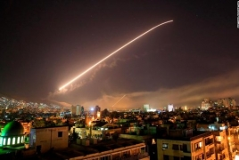 США, Франция и Великобритания нанесли авиаудары по Сирии