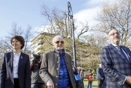 Armenian Genocide memorial lanterns inaugurated in Switzerland