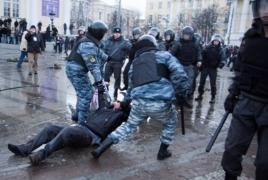 Հարցում. Ռուսաստանցիների 86%-ը չի ցանկանում մասնակցել որևէ բողոքի ակցիայի