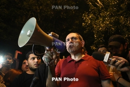 Armenian opposition MP injured during clashes with police
