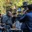 Пашинян порвал уведомление Полиции о разгоне митинга в центре Еревана