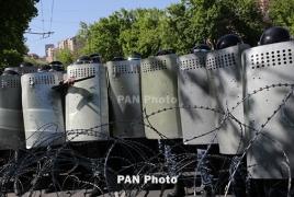 Իջևանում ցուցարարները փակել են կենտրոնական փողոցներից մեկը