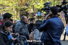 "Armenian opposition announces about starting ""velvet revolution"""