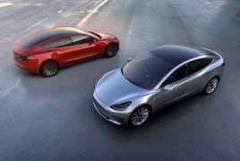 Tesla временно приостановила производство Model 3