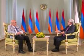 Саргсян о протестах в РА: Когда в действиях нет логики, трудно понять, как будут развиваться события