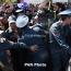 Полиция Армении предупредила, что будет вынуждена применять «соразмерное воздействие» на митингующих