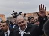 Armenian president meets opposition leader Pashinyan in Republic Square