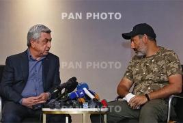 Переговоры Саргсяна с Пашиняном закончились, так и не начавшись