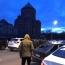 Մոսկվայի հայկական եկեղեցու մոտ ցույցը ցրել են, մեքենա են կոտրել
