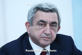 Серж Саргсян заявил об уходе