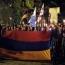 В Тбилиси прошло факельное шествие в память о жертвах Геноцида армян