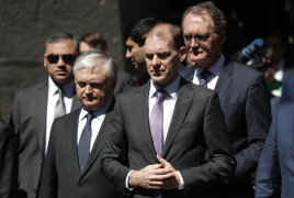 Dutch minister at Armenian Genocide commemorations for 1st time