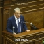Armenia parliament to discuss election of new PM on May 1