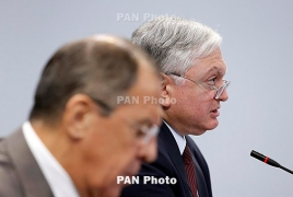 Armenian, Russian foreign policy chiefs talk Karabakh in Moscow
