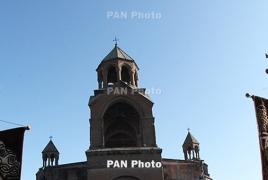 Лидер армянской оппозиции встретился с католикосом Гарегином II