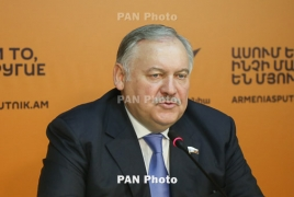 Затулин: Россия не намерена вмешиваться в вопрос избрания премьера Армении