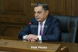 Armenia's RPA won't hinder PM vote 'if single candidate nominated'